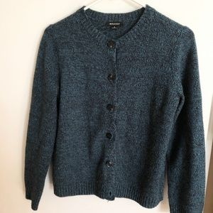 Sweaters - Heather teal cardigan size small